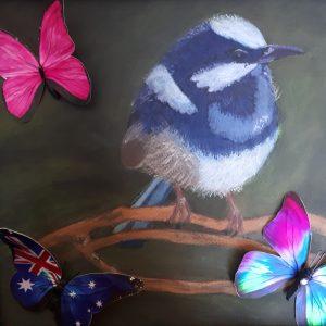 Bluewrensandbutterflies